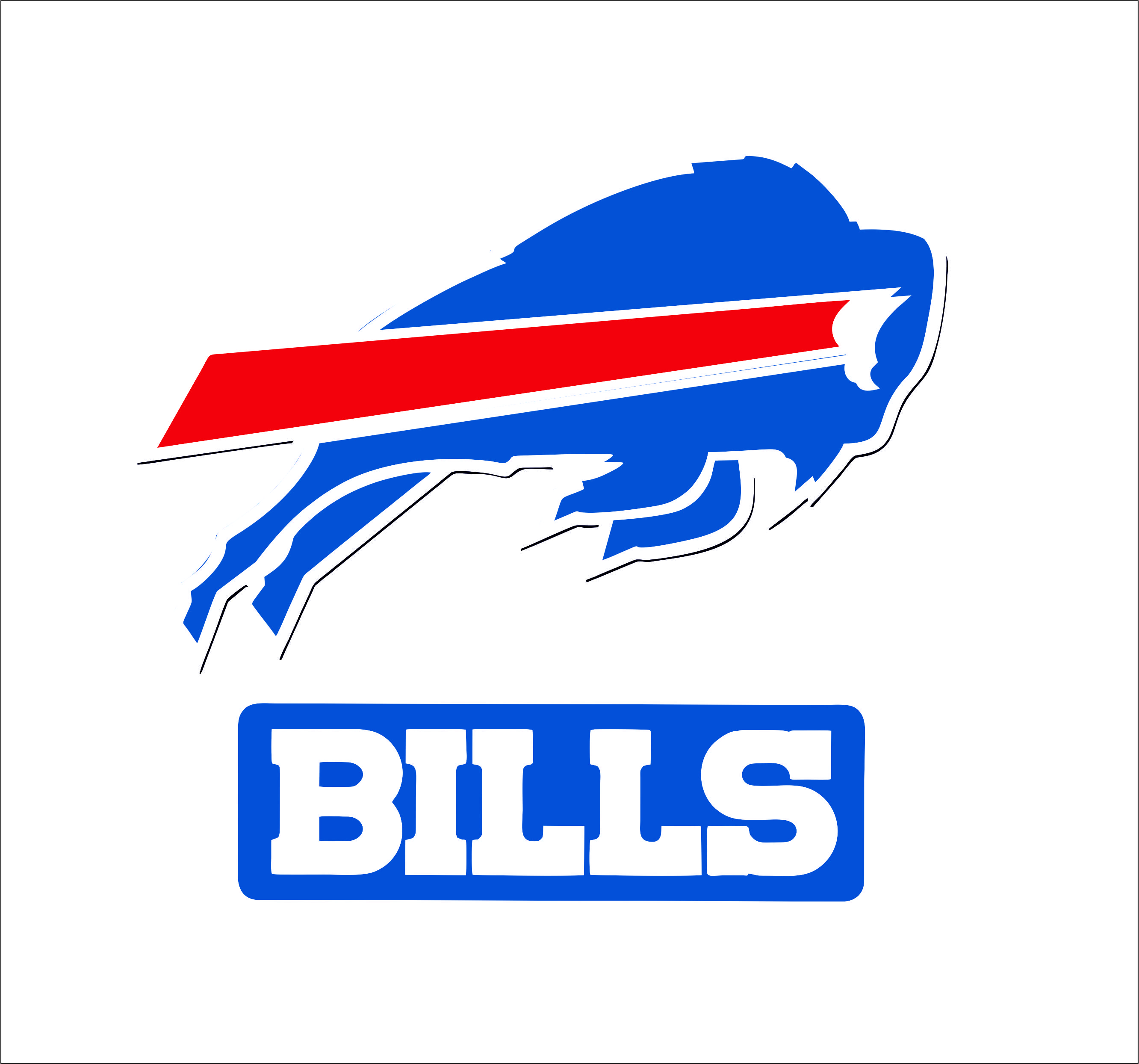 Buffalo Bills Logo Svgprinted