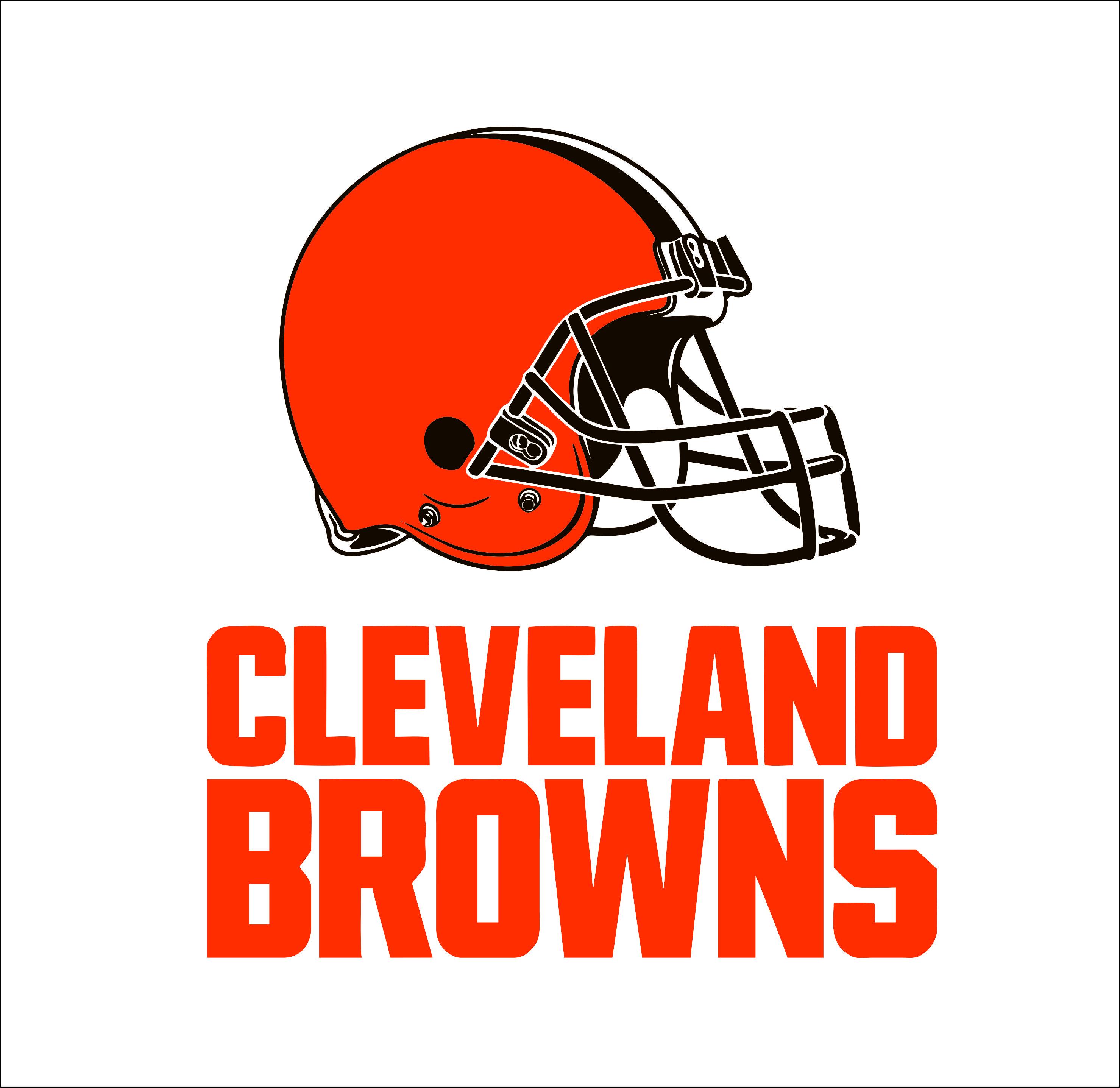 Cleveland Browns logo   SVGprinted