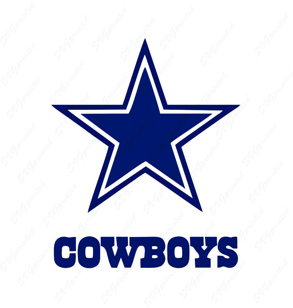 dallas cowboys logo   svgprinted  svgprinted