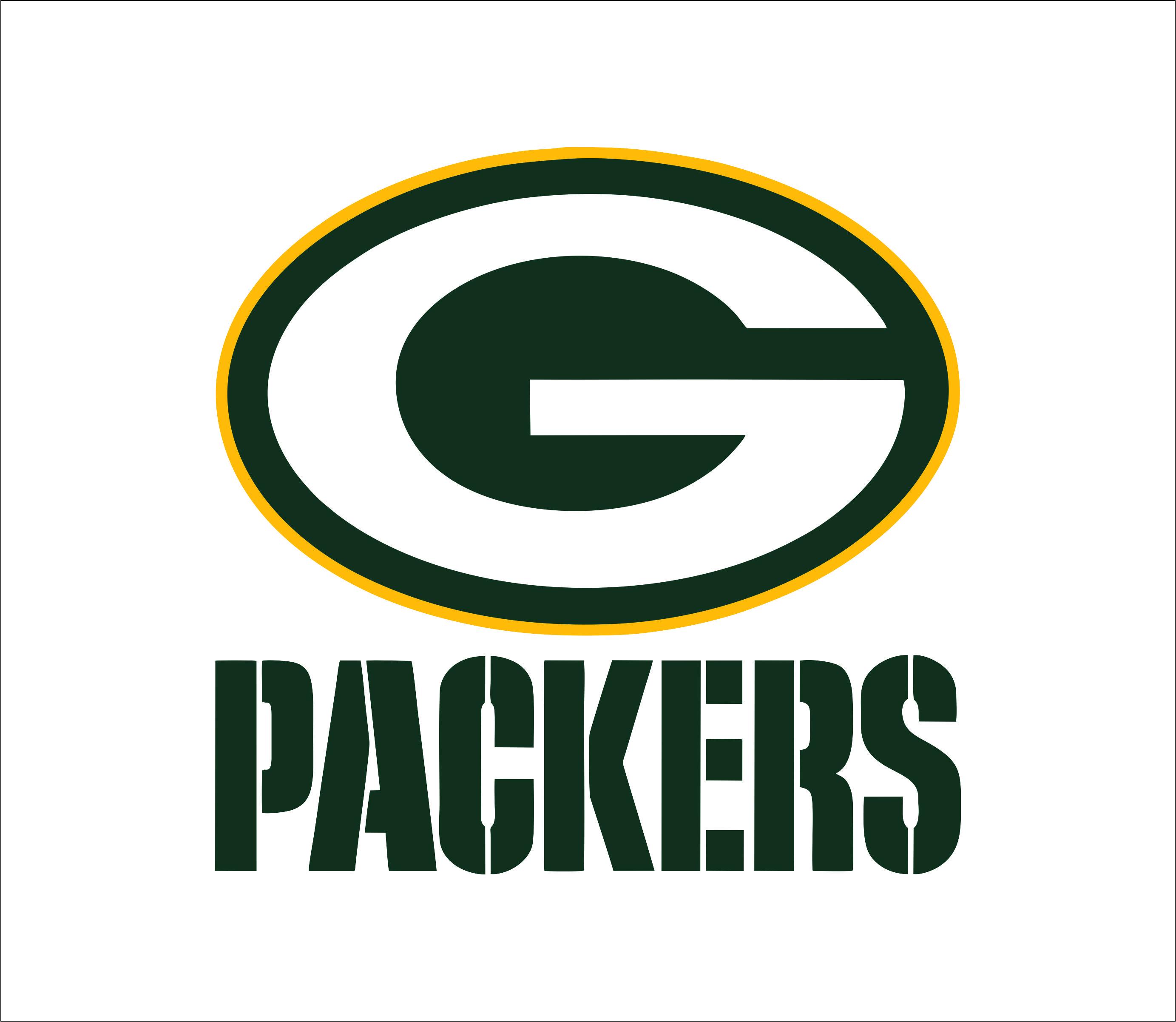 Green Bay Packers Logo Svgprinted