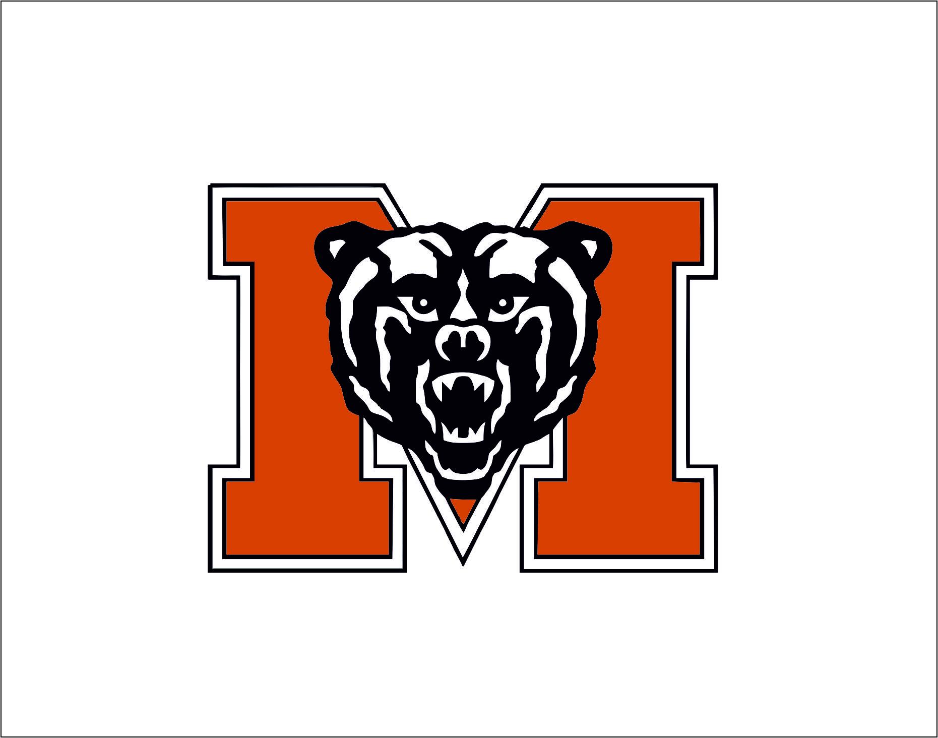 Mercer Bears logo   SVGprinted